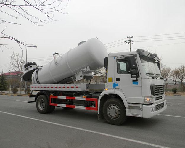 JHL5160GQW型清洗吸污车